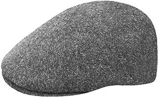 قبعة Kangol للرجال بدون خياطة من الصوف 507 Ivy ، مريحة ، تناسب الحواف ، الفانيلا الداكنة (كبير)