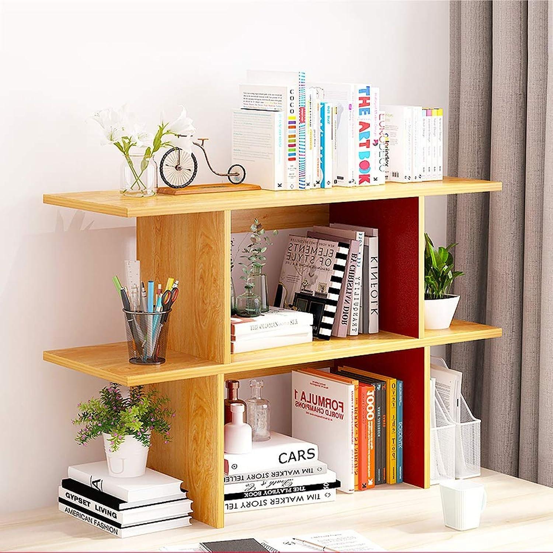 GLJJQMY Desktop Bookshelf Stationery Desk Workspace Books Storage Stand Album Display Stand 90x20x63cm Bookcase