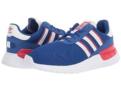 adidas Originals Kids LA Trainer Lite C (Little Kid) (Team Royal Blue/Footwear White/Scarlet) Boys Shoes