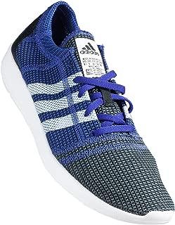 Adidas - Element Refine Tricot - B44239 - Color: White-Violet - Size: 12.5