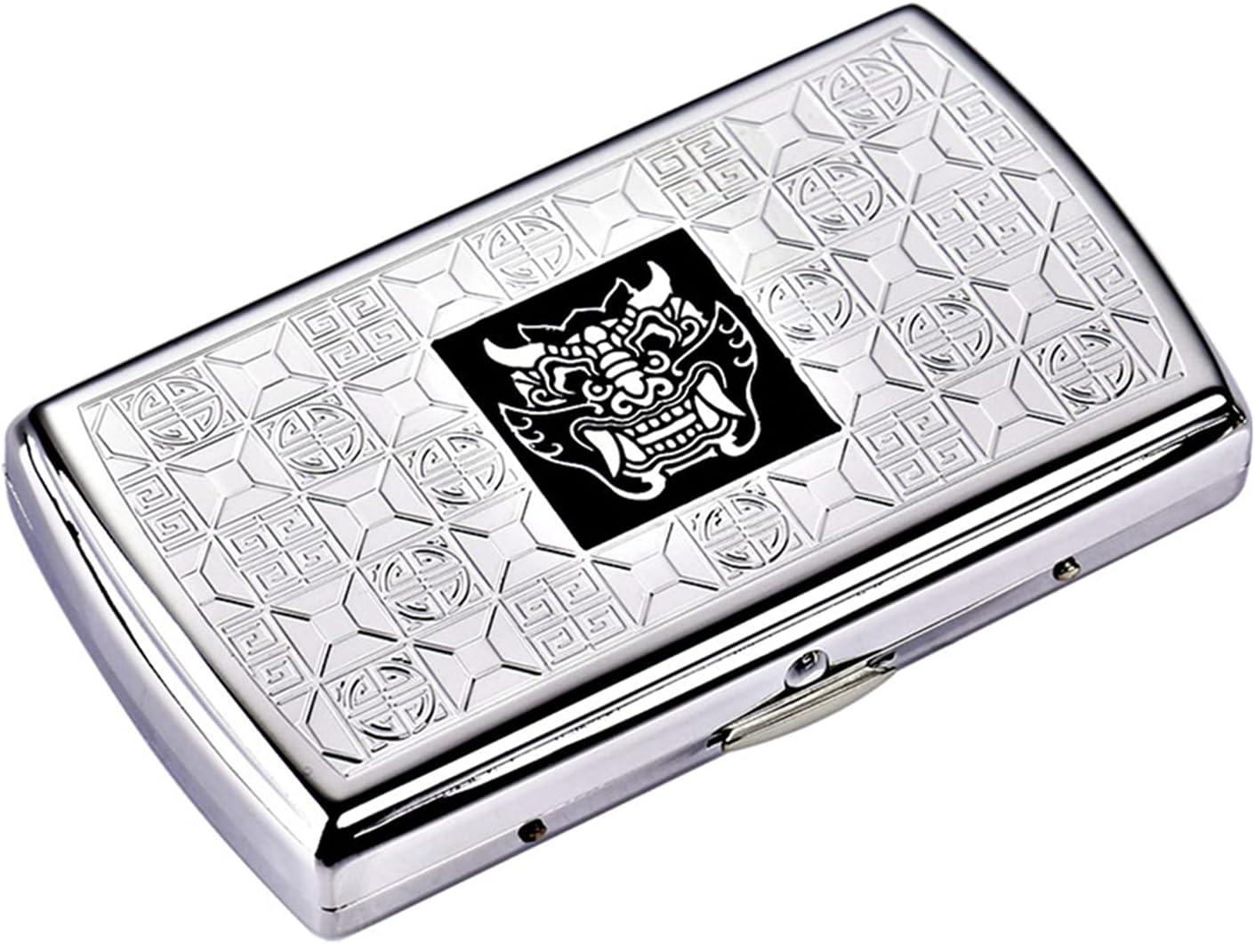 FXBH Copper Cigarette Case Ultra-Slim Bargain sale Proof Mo Ranking TOP9 Dust Personality