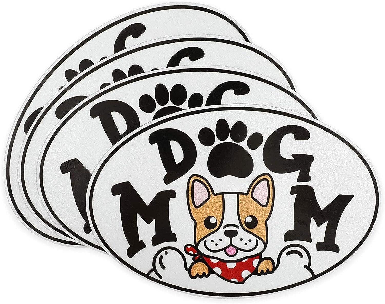 Denver Mall Soldering Dog Mom Waterproof Car Magnets Magnetic Bumper Vehicle Sticker