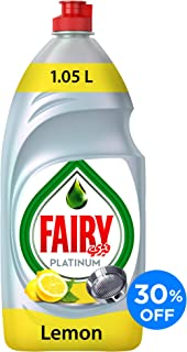 Fairy Platinum Lemon 1.05 Dish Washing Liquid Soap L 30%Off