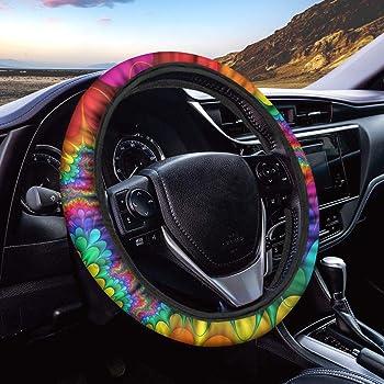 Alician Sunflower Seat Belt Shoulder Pads Car Accessories for Women Girl 1pcs