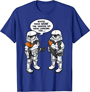 Star Wars Wrong Droids Funny Comic Graphic T-Shirt