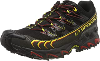 LA SPORTIVA Ultra Raptor GTX Black/Yellow, Scarpe da Trail Running Uomo