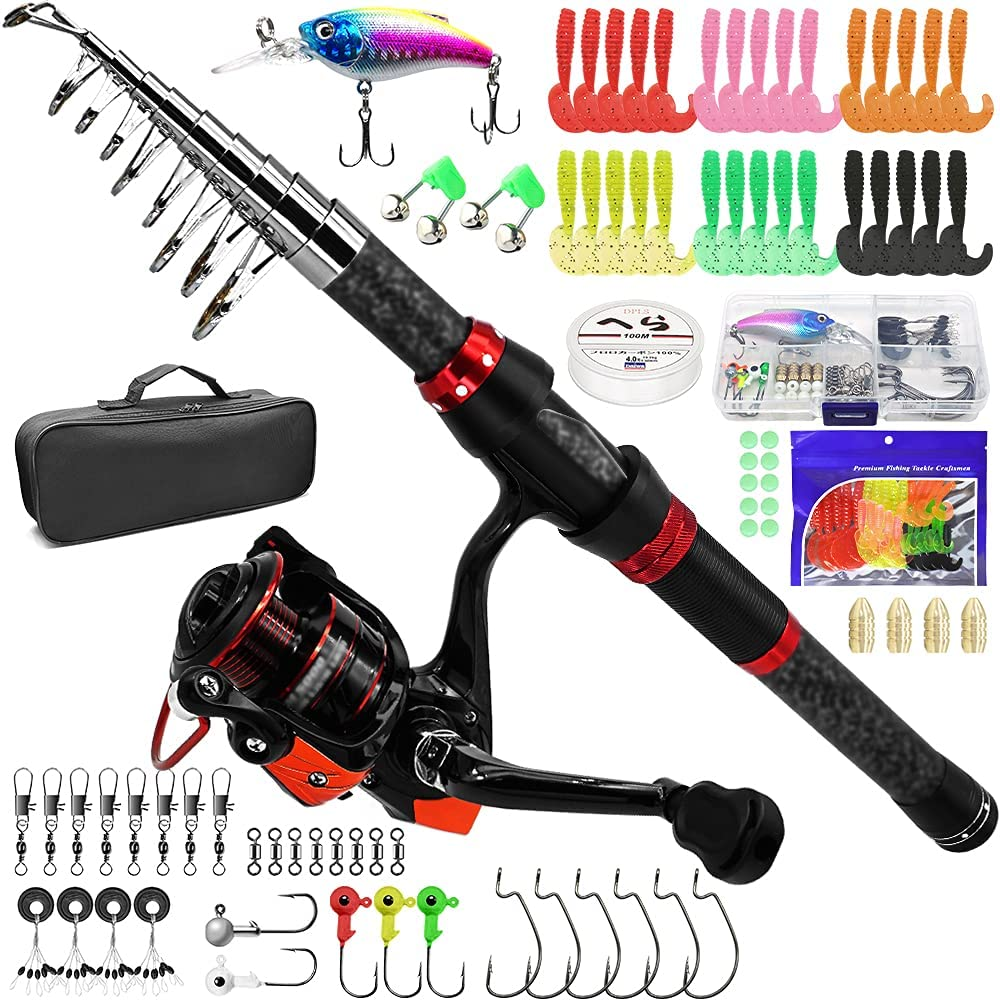 Kilitn Fishing Rod Sale special price 2.3M 90.55Inch Combos Limited time sale Carbon Portable Fiber