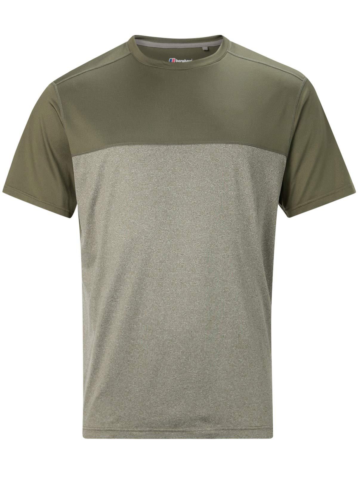 berghaus Damen Voyager Base Layer Kurzarm T-Shirt Ivy Green, XS