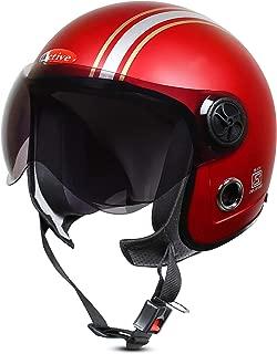 ACTIVE JET STICKER Open Face Helmet (RED MATT) (RED)