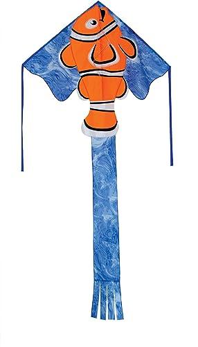 In The Breeze Clownfisch fly-hi Delta Kite