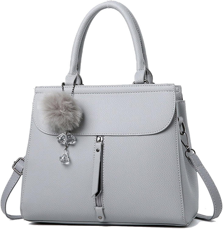 fcb2065984529 WU ZHI Lady Lady Lady Messenger Bag Schultertasche Handtasche Handtasche  Mittleren Alters Mom PU Soft Leather Making B078J5VNSS Starker Wert 727eca