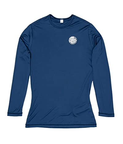 Rip Curl Whitewash Long Sleeve Rashguard (Navy) Women