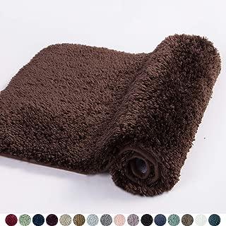 Best brown bathroom rugs Reviews