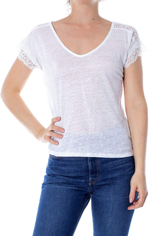 ANIS COLLECTION MILANO Women's 921575WHITE White Viscose TShirt