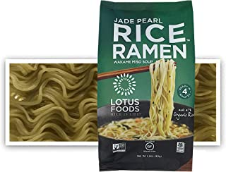 Lotus Foods Gourmet Jade Pearl Rice Ramen & Miso Soup, Gluten-Free, 2.8 Oz (Pack Of 10)