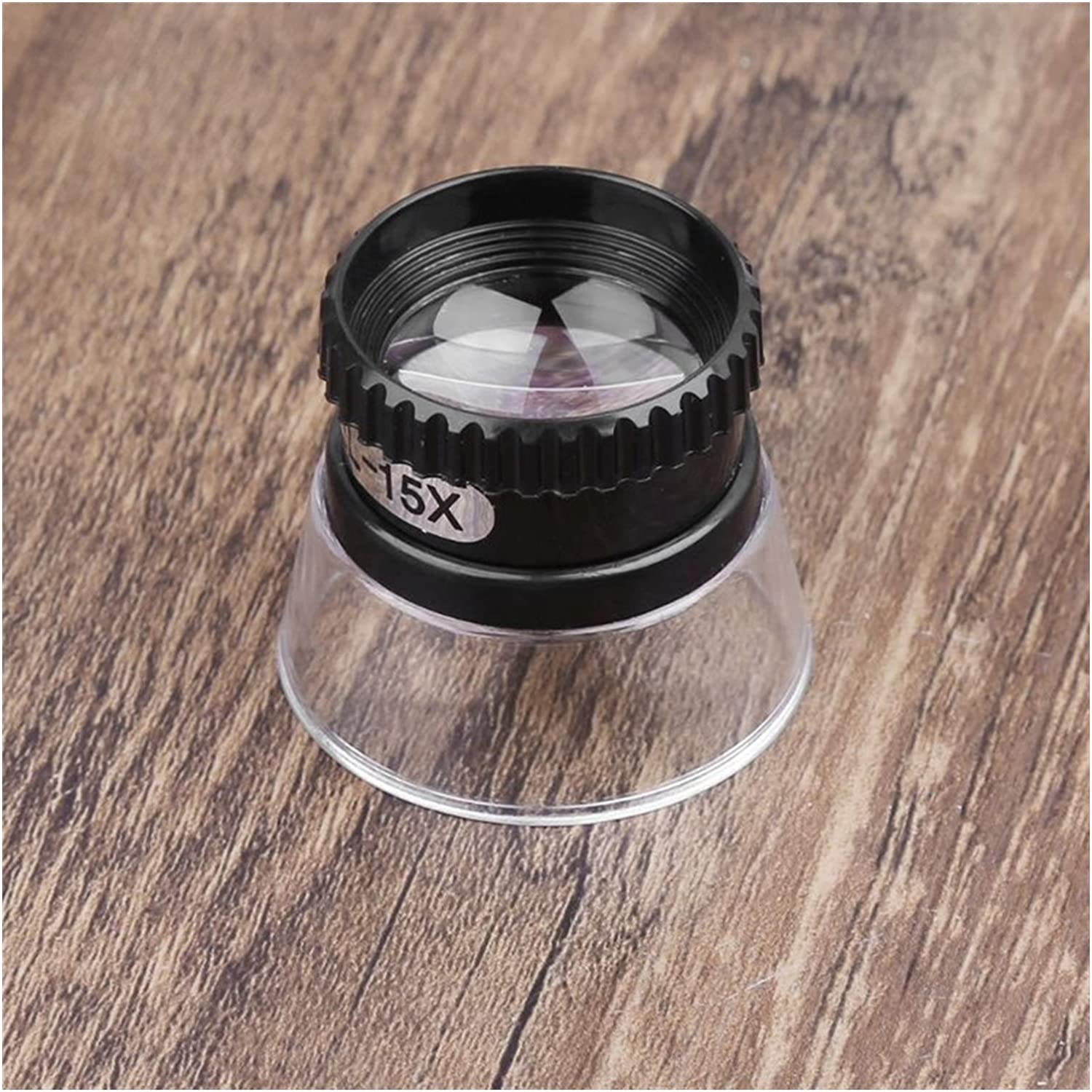 CMMWA Portable Large-scale sale Reading Magnifier Eye Mask Cylinder Gorgeous Type Times 15