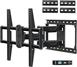 Mounting Dream Full Motion TV Mount for Most 42-75 Inch TVs, Adjustable TV Mount Swivel and Tilt with Articulating Dual Ar...