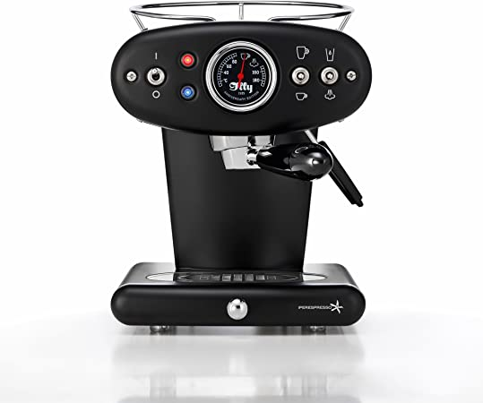 illy 60255 X1 Espresso Machine, 13 x 9.8 x 10.60, Black