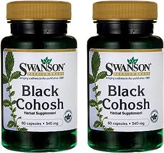 Swanson Black Cohosh 540 Milligrams 60 Capsules (2 Pack)