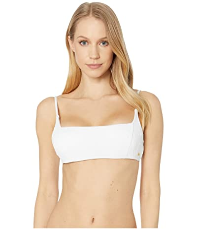 Roxy Tidal Times Bralette Swim Top (Bright White) Women