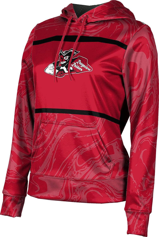 ProSphere Rangeview High School Girls' Pullover Hoodie, School Spirit Sweatshirt (Ripple)