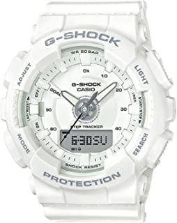 Casio Unisex Watch White Resin G-Shock S Series GMAS130-7A