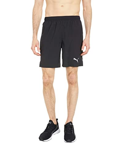 PUMA Run Favorite Woven 7 Shorts (PUMA Black) Men