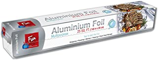 Fun Indispensable Aluminium Foil Roll for Food Wrap 25 sqft