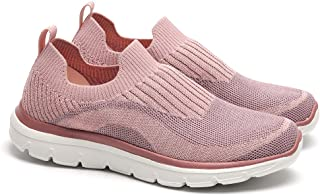 Apan Women's Tennis Shoes Casual Sneakers Comfortable Slip on Walking Shoes(Size 6-10)