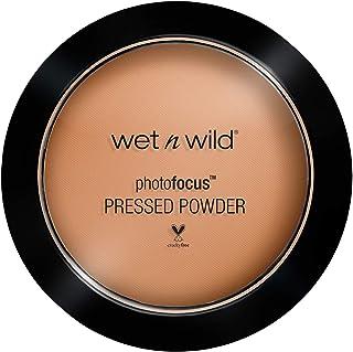 wet n wild Photo Focus Pressed Powder, Tan Beige, 7.5 Gram