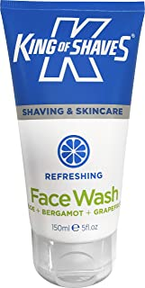 King of Shaves Deep Cleansing Refreshing Face Wash For Men, Mens Face Wash 150ml Single
