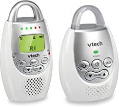 VTech DM221 Audio Baby Monitor with up to 1,000 ft of Range, Vibrating Sound-Alert, Talk..