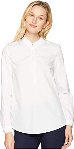 Carmel Ruffle Pop Over Shirt