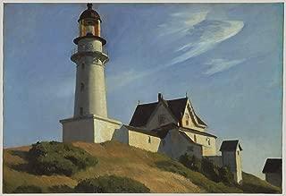 edward hopper lighthouse at two lights