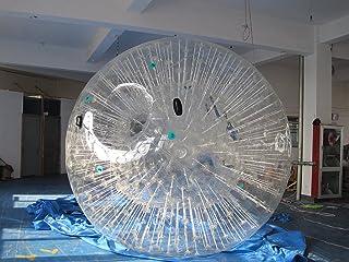Bola Zorb Zorbing de hámster humano Hydro Zorb Bumper Ball inflable parachoques PVC 1,0 mm