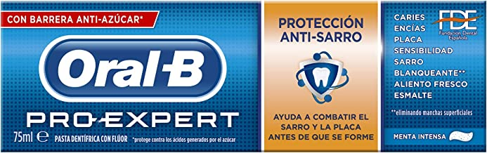 Oral-B Pro Expert Dentífrico Anti-Sarro - 75 ml