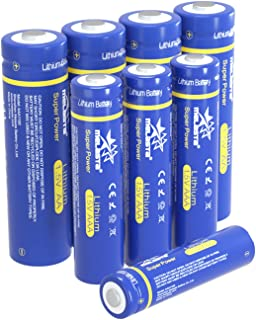 MELASTA AA/AAA Lithium Batteries, 1.5V 4PC AA 2900mAh & 4PC AAA 1100mAh Long-lasing Replacement for AA/AAA Alkaline Batteries (Non-Rechargeable)