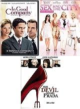 Sinfully Fun Triple Feature Comedy Night Blast Sex in the City Movie & The Devil Wears Prada + In Good Company 3-DVD Bundle
