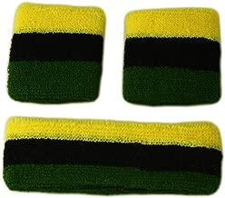 Itzu 100/% Cotton Rasta Striped String Vest Mesh Fishnet Fitted 2 Pack