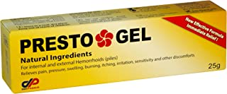 Presto Gel - A Natural Hemorrhoids Treatment