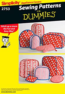Simplicity 2753 Appliance Cover Sewing Pattern For Home Decorating by Sewing Patterns for Dummies, One Size