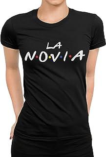Camiseta Despedida La Novia divertida Friends Mujer