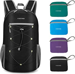 WOOMADA 17L Ultra Lightweight Packable Durable Waterproof Travel Hiking Backpack Daypack for Men Women Kids