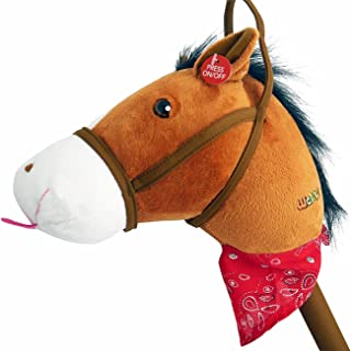 play horse on a stick