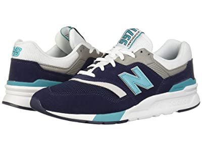 New Balance 997H (Pigment/Neon Aqua Blue) Men