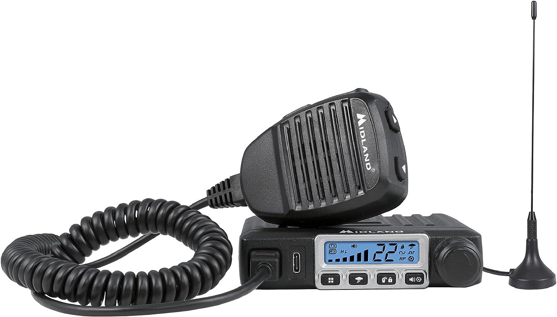 Midland - Dedication MXT115 15 Watt GMRS Radio MicroMobile Attention brand Two-Way Rep 8