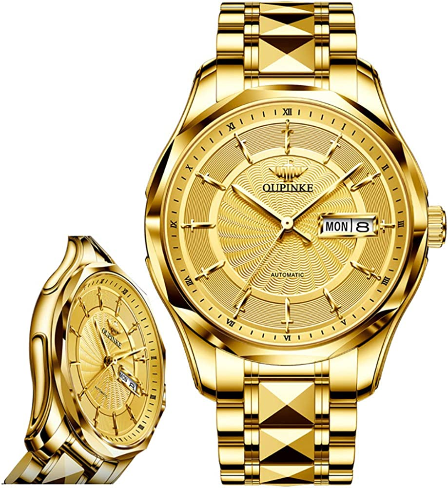 OUPINKE Men Watches- Popular Oklahoma City Mall Automatic Men-Self-Wind-Winding Watch M for