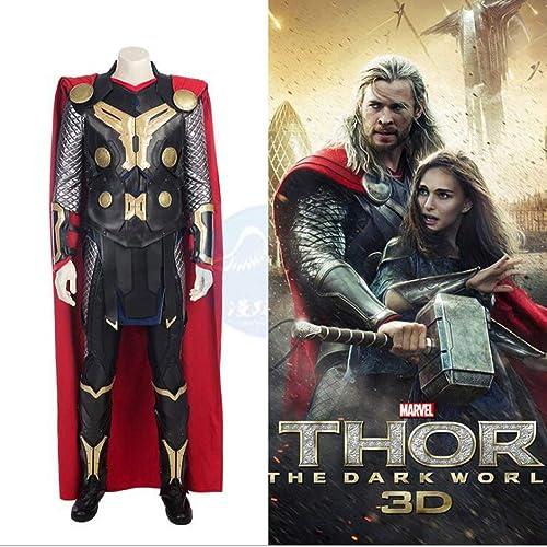 orden ahora con gran descuento y entrega gratuita Avengers Thor Deluxe Traje De De De Niño Adulto Disfraz De Cosplay Traje Traje De Fiesta Infinity War Superhero Latex,Adult-M  nueva marca