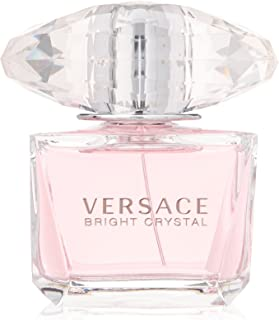Versace Bright Crystal Eau de Toilette Spray for Women, 3 Ounce