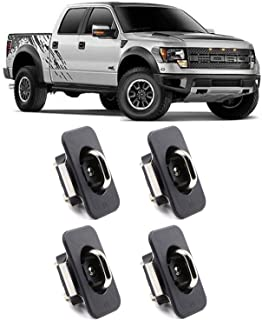 Jackma55 4PCS Truck Bed Retractable Tie Downs Anchors for 2015-2019 Ford F150/2017-2019 F250 F350 Super Duty